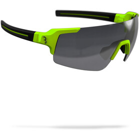 BBB FullView Sports Glasses matt neon yellow/smoke
